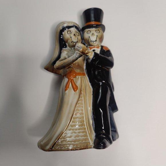 NWT Halloween candlestick holder